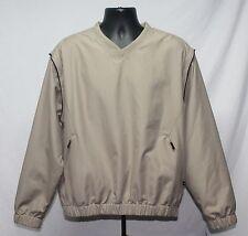 Grandslam golf pullover windbreaker - Zip off sleeves - Medium - beige - NWT