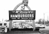 Vintage McDonalds Restaurant Photo 855 Oddleys Strange & Bizarre