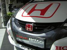 ORIGINAL HONDA TYPE R FRONTEMBLEM ROT ca.12x10cm Civic FK2 Accord CU1 CU2 CU3 ++