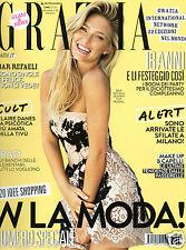 magazines grazia #38 bar refaeli claire danes katy hansz olivia wilde moda look
