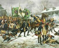 """Battle of Trenton - December 26, 1776"" Don Troiani Revolutionary War Print"
