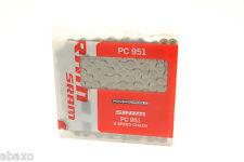 SRAM Mountain Bike Chain PC-951 9 Speed Power Link PC951, Shimano Compatible
