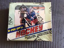 1981/82 OPC HOCKEY BOX WITH 48 UNOPEN PACKS AUTH BY THE BBCE