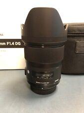 SIGMA 35mm f/1.4 DG HSM Art Objektiv für Nikon - OVP ausgezeichnet
