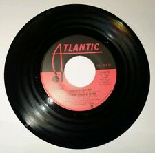 New nos Crosby Stills & Nash Shadow Captain / War Games 45 rpm Vinyl Record