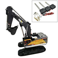 3PCS Metal Arm Driving Rod Servo Part Kits For HUINA 1592 RC Crawler 22CH 1/14