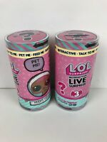 LOL Surprise Interactive Live Surprise Pet with Realistic Sounds Set of 2 New