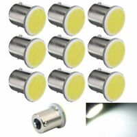 10Pcs Blanc 1156 Ba15S P21W Lampe 1156 LED Voiture Led Cob 12 SMD 12V Tension 1E
