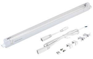 T4 Undershelf Cabinet Light Fitting  + 6W  10W 16W 20W CFL Tube Complete Unit