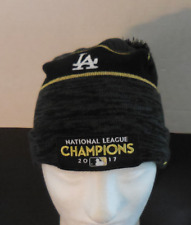 NIKE MLB Dodgers 2017 National League Champions Beanie/Hat New