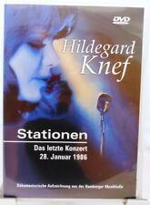 Hildegard Knef + DVD + Stationen + Das letzte Konzert vom 28.Januar 1986 Hamburg
