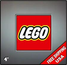 "4"" LEGO Stickers Decal Art Vinyl Wall Sticker Kids Puzzle Blocks"
