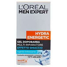 L'oréal Paris Men Expert Hydra Energetic Gel Dopo-barba 100 ml Pacco da 6