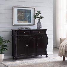 Kings Brand Furniture – Gilberto Wood Buffet Sideboard Storage Cabinet, Espress