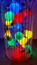 Guirlandes jaunes en plastique pour la chambre