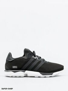Adidas Mens ZX Gonz Lightweight Lace Up Trainers Shoes Black White Size 6
