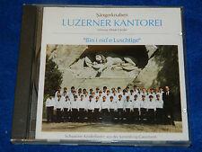 CD luzern 1994 LUZERNER KANTOREI henk GEUKE gassmann SCHWEIZ chorale Swiss CHOIR