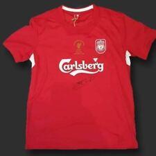 Steven Gerrard Liverpool 2005 Signed Shirt