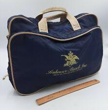 ANHEUSER BUSCH Lightweight Nylon Carry Bag Soft Travel Briefcase AB Employee