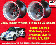 2 Cerchi Porsche 911 11x15R ET-27 Turbo 3.0/3.3 Felgen Wheels TUV jantes llantas