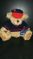 "Vtg The Brass Button Bear Collection ""Tully"" The Bear Of Joy Sweater Hat"