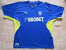 Cardiff City Casa Camiseta Jersey Puma 2009-2010 Gales los Azulejos tamaño adulto XL