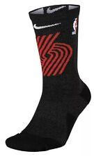Nike Elite Crew Basketball Socks NBA Portland Trailblazers MENS SZ 8-12 LILLARD