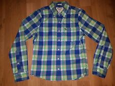 ABERCROMBIE & FITCH MUSCLE BUTTON FRONT SHIRT SZ S