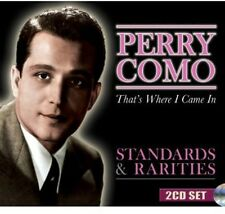 Perry Como - Standards & Rarities: That's Where I Came in [New CD]