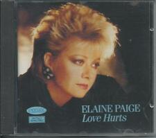 ELAINE PAIGE - Love Hurts CD Album 11TR (PICKWICK) 1985/1991 UK RELEASE