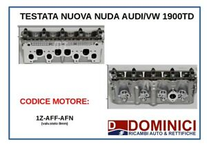 TESTATA NUDA NUOVA AUDI/VW 1900TD 1Z-AFF-AFN