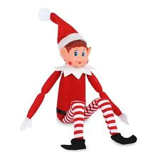 Christmas Elf Naughty Or Nice Soft Toy Doll Novelty Advent Shelf Fun Xmas Gift