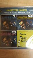 Hampton Hawes-Three Classic Albums Plus  (UK IMPORT)  CD NEW