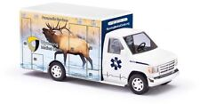 "Busch 41845 - 1/87 / H0 Ford E-350 Ambulance - Wyoming Medical Center ""Elk"""