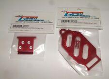 TEAM LOSI MINI-T GPM  RED ALUMINUM LOT F BUMPER BATT HOLD DOWN SMT003F SMT0126