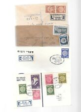 ISRAEL-Another group of 27 coins covers(about 1950s)