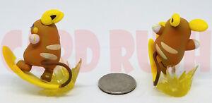 "1x Pokemon Officially Licensed 2"" ALOLAN RAICHU FIGURE (Figurine Collection)"