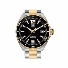TAG Heuer Stainless Steel Case Men's Analog Wristwatches