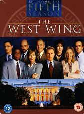 THE WEST WING - The Complete Fifth Season - UK DVD 6-DISC BOX SET - Series 5 5th