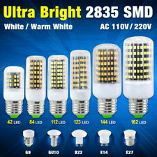 High Lumens 2835 LED Corn Bulbs Lamp Cool/Warm Light 110V 220V E27 B22 G9 BFEC