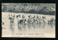 North Africa Morocco SAFSAFAT France Army 1915 PPC