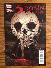 5 Ronin #3 Punisher VARIANT (2011) Cover B Marvel Comics NM
