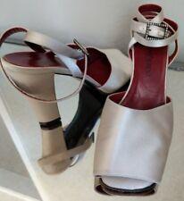 Vintage Yves Saint Laurent YSL Ivory Silk Heels (9)