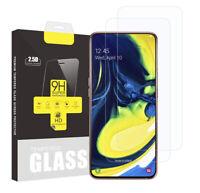 2x Samsung Galaxy A80 Schutzglas Panzerfolie Displayschutzfolie 9H Hartglas