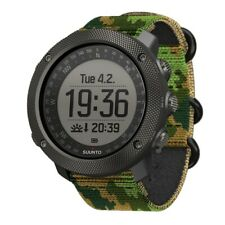 Suunto Traverse Alpha Woodland Mens Gps Outdoor Wrist Watch - Ss023445000