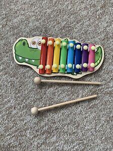 Baby xylophone Toy Crocodile