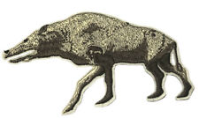 Hell Pig Ice Age Prehistoric Embroidered Patch Iron/Sew-On Applique Souvenir