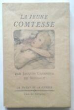 La Jeune Comtesse. Par Jacques Casanova de Seingalt. Erotico. 1936