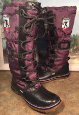 Pajar Snow Boots Hi Canada Grip Waterproof Size 6 To 6.5 Purple