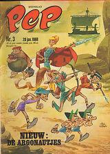 PEP 1968  nr. 03 - ARGONAUTJES (COVER)/SCHENK & VERKERK/ARENDSOOG STRIP